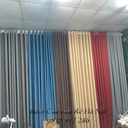 mẫu rèm vải một màu mã 21