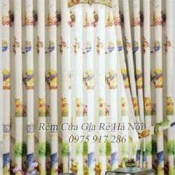 Mẫu rèm vải hoa văn mã 37