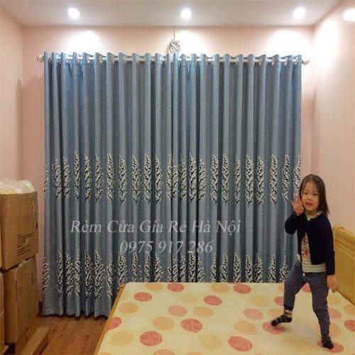 mẫu rèm vải phòng ngủ đẹp